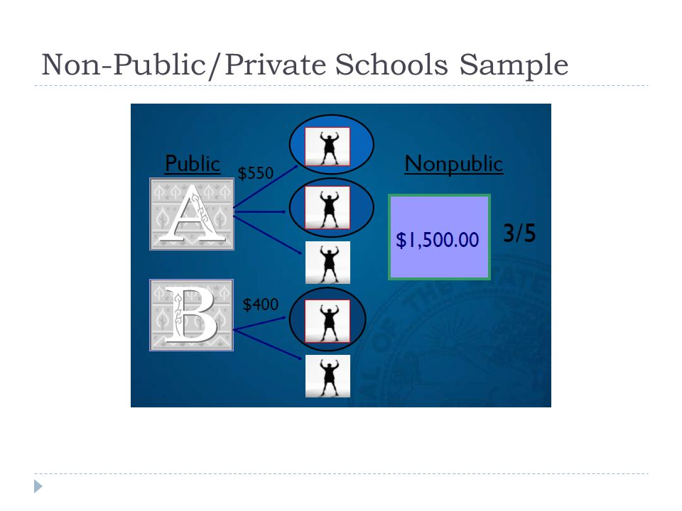 Non-Public/Private Schools Sample