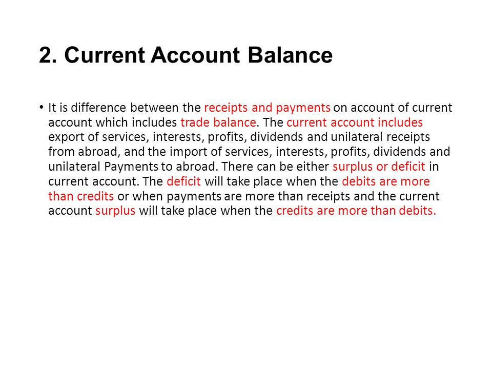balance of payments deficit or surplus essay