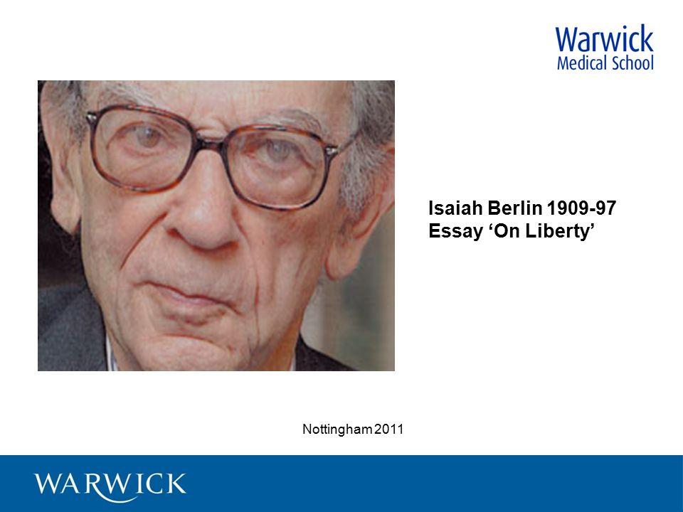 Essay on liberty