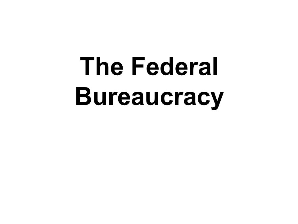 How is congress and the president responsible for bureaucracy?