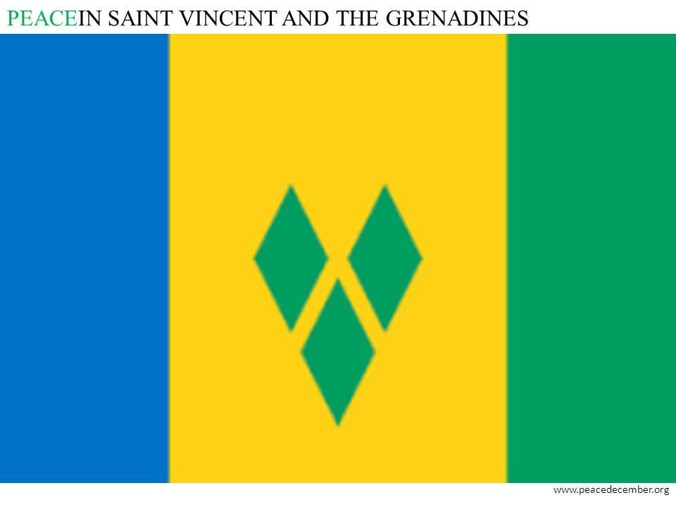 PEACEIN SAINT VINCENT AND THE GRENADINES