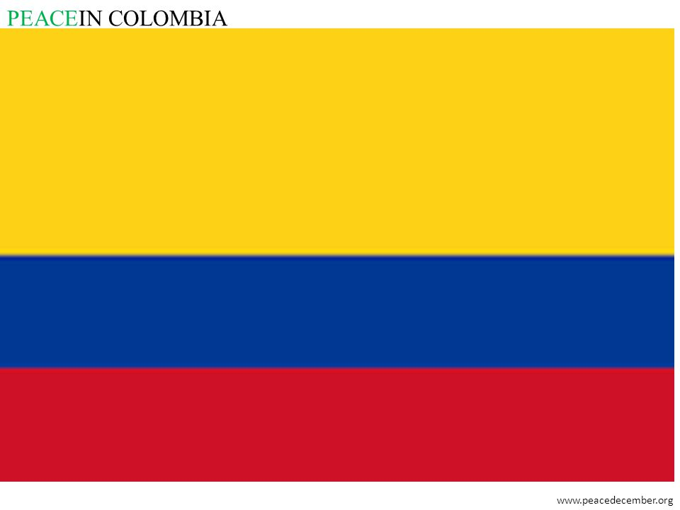 PEACEIN COLOMBIA