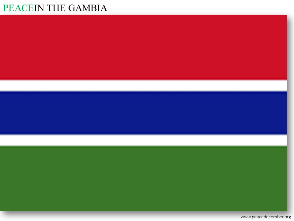 PEACEIN THE GAMBIA
