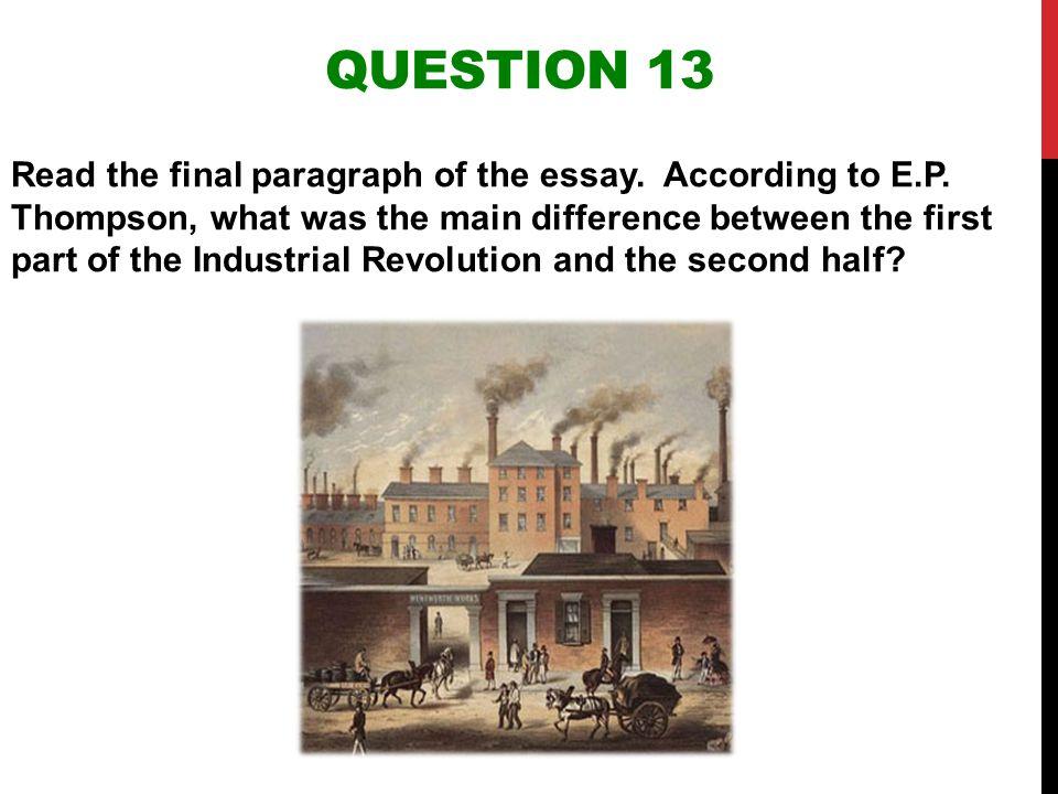 industrial revolution essay questions industrial revolution essay topics