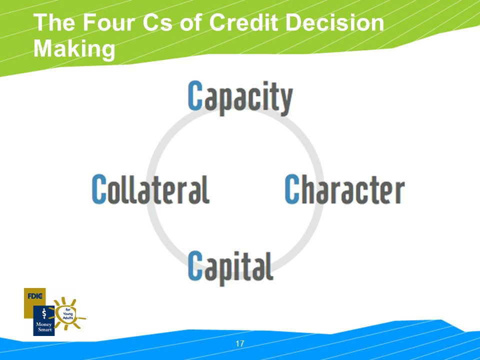 17 The Four Cs of Credit Decision Making