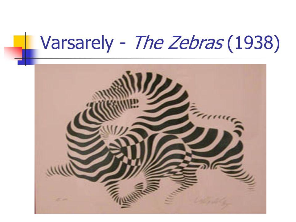Varsarely - The Zebras...