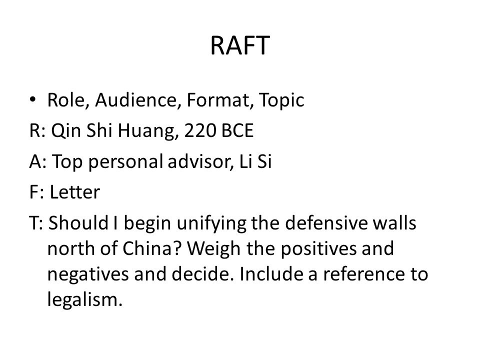 World history qin han dynasties china 913 ppt download raft role audience format topic r qin shi huang 220 bce spiritdancerdesigns Choice Image