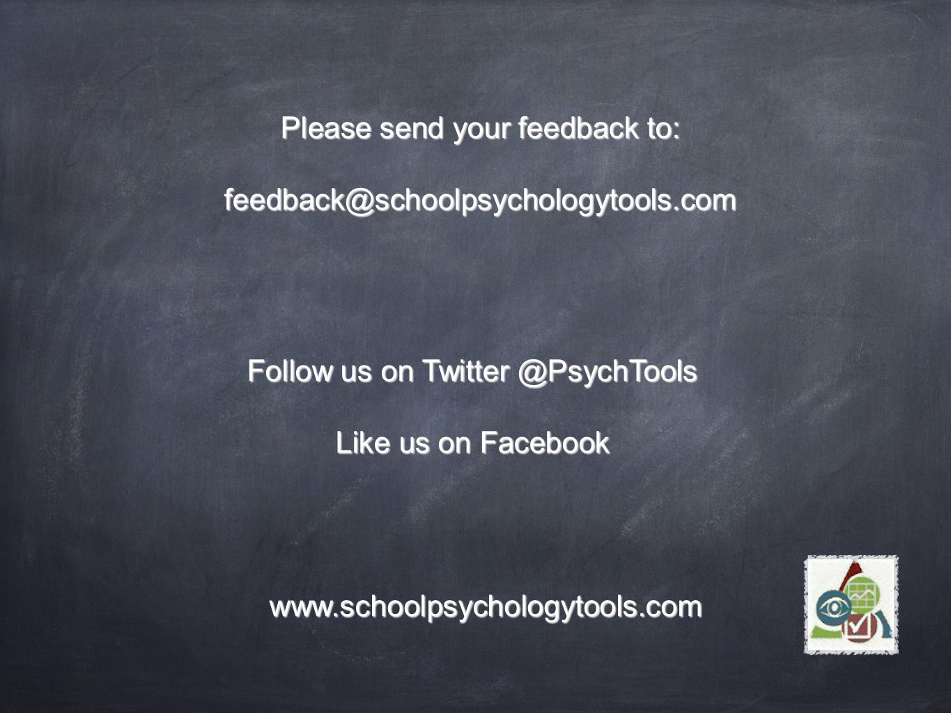 Please send your feedback to: Follow us on Like us on Facebook