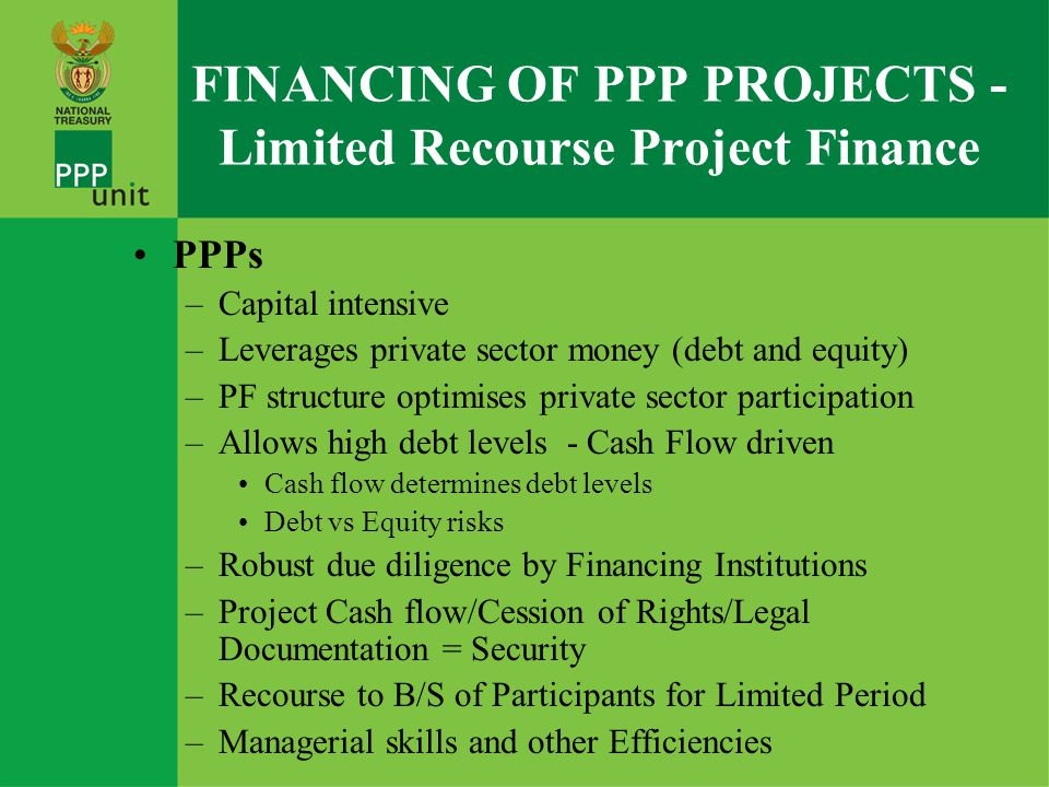 Corporate Finance Raising finance on the basis of a Company's existing financial strength, also termed as 'direct lending' or 'balance sheet financing' – could be rolled over into PF