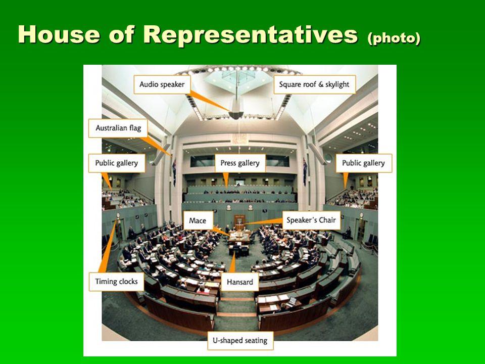 House of Representatives (photo)
