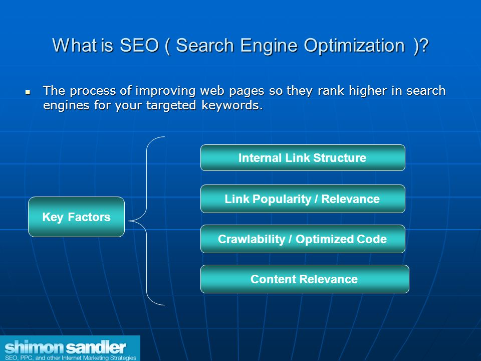 What is SEO ( Search Engine Optimization ).