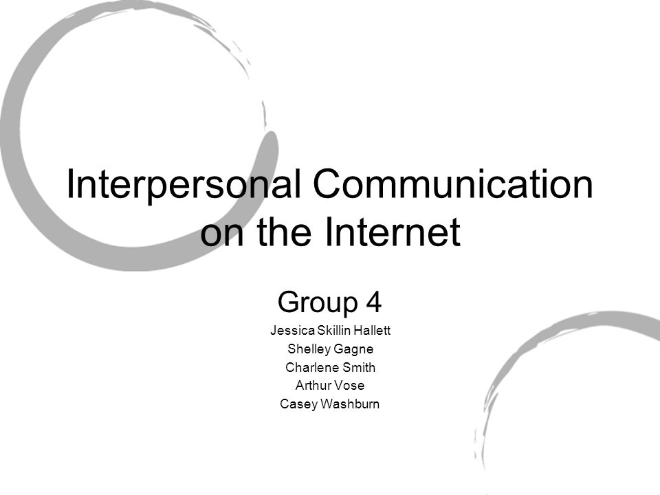 A Case Study Online Communication and Relationships Con     t This study examined how development of