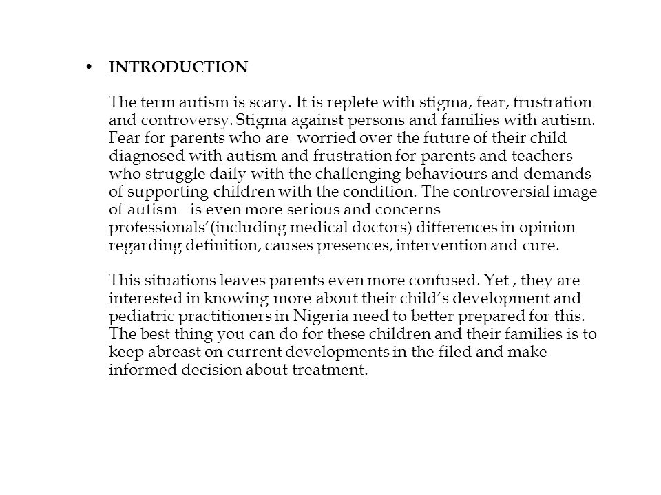 Controversial topics involving autism...? For my term paper.?