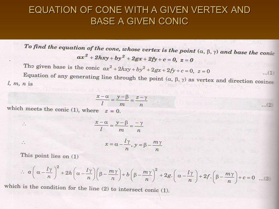 Cpm homework help geometry vertices in a cone   www yarkaya com Cpm homework help geometry vertices in a cone