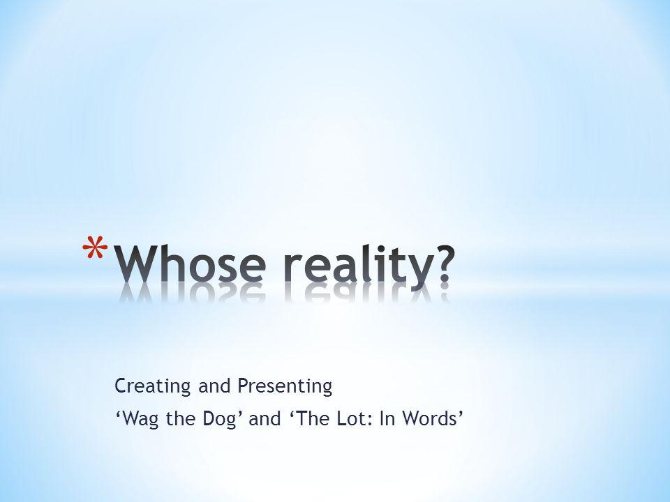 whose reality essay ga whose reality essay