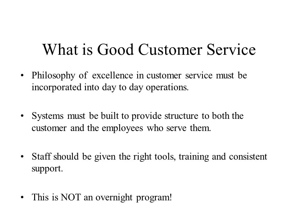 Module  Customer Service By Dale Pfeiffer Session Learning