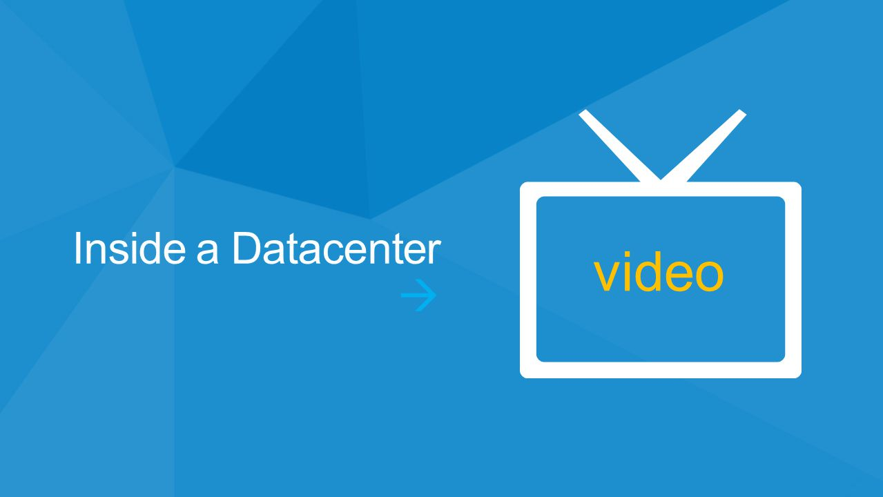 video Inside a Datacenter 