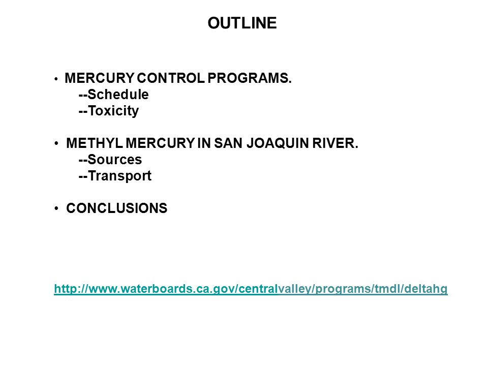 an analysis of the effects of methyl mercury toxicity