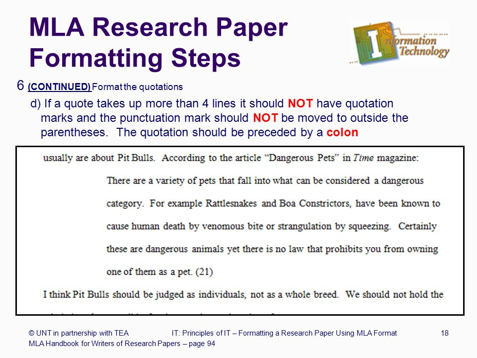 mla format for term papers Mla (modern language association) style is most commonly used to write papers and cite sources within the liberal arts and humanities this resource, updated to.