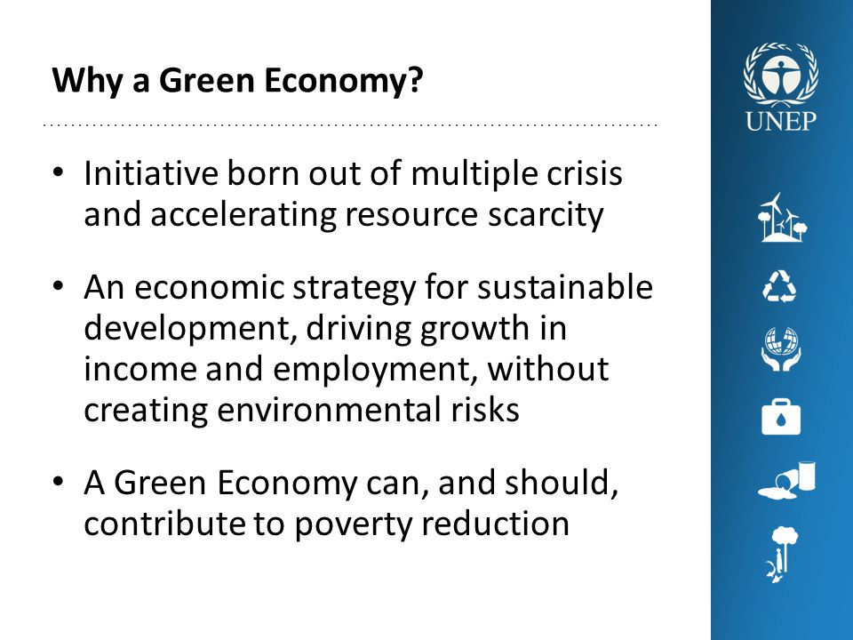 Why a Green Economy.