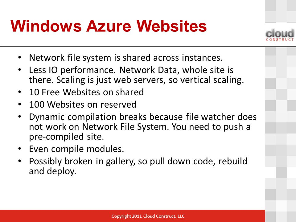 Windows Azure Websites Network file system is shared across instances.