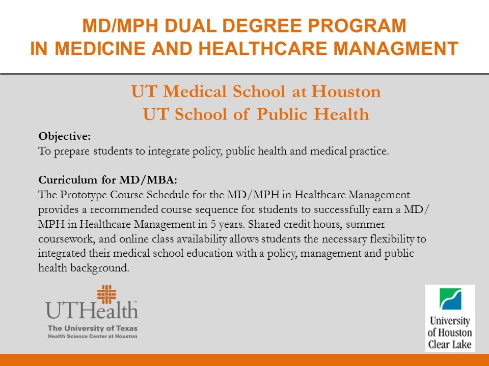 degrees in health care management