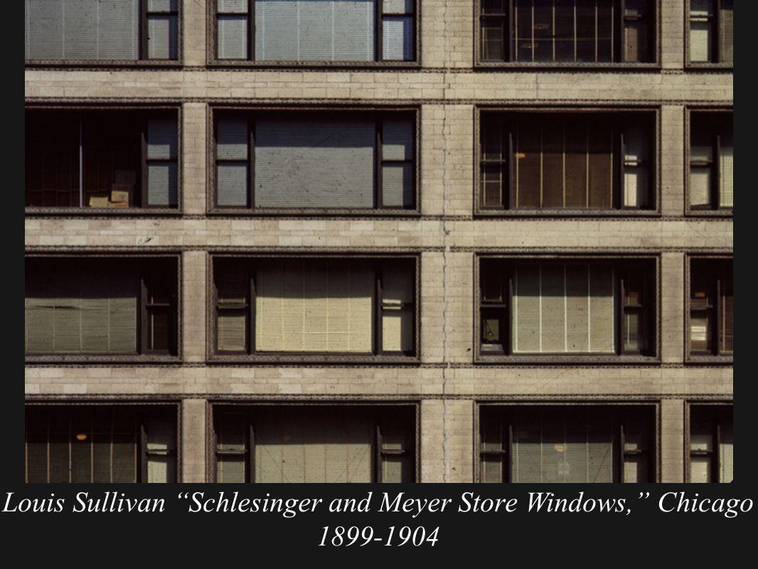 sullivan architecte le schlesinger and mayer