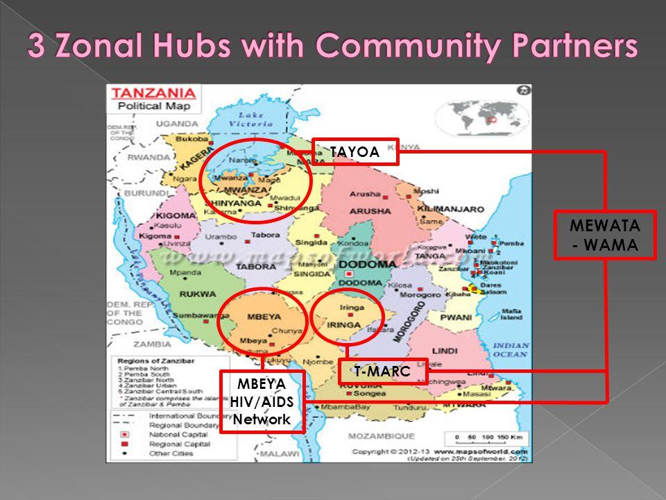 TAYOA MBEYA HIV/AIDS Network T-MARC MEWATA - WAMA