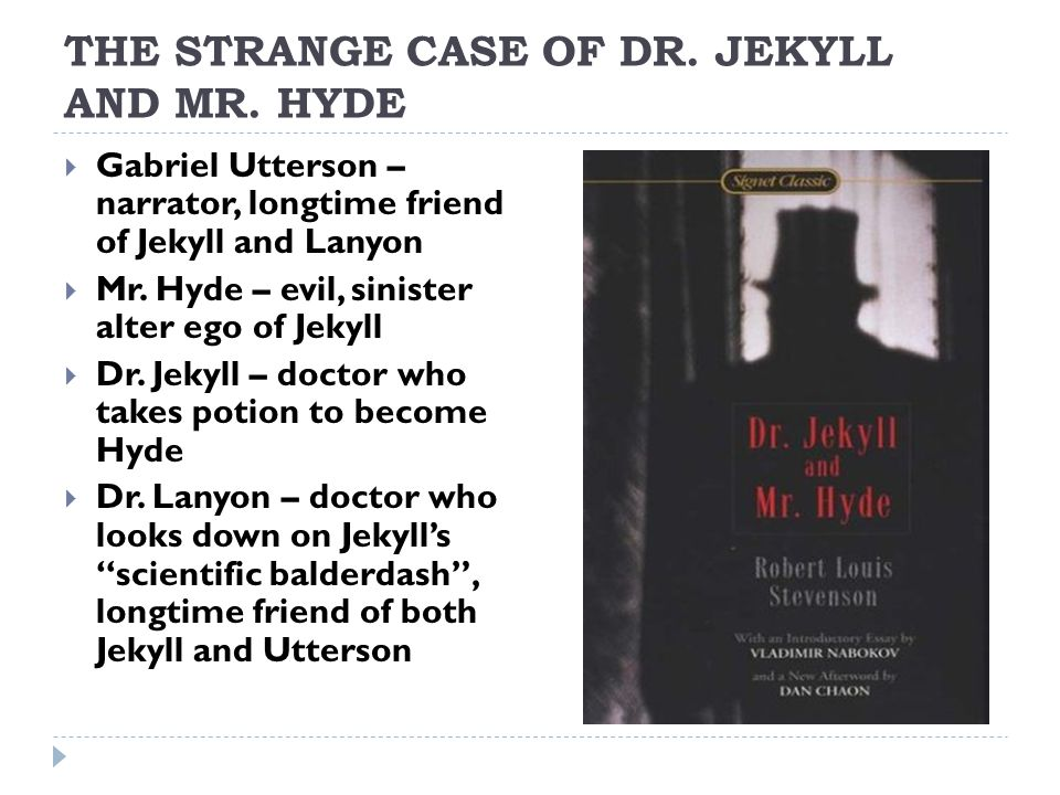 dr jekyll and mr hyde good vs evil theme Dr jekyll and mr hyde are easily viewed as emblem about the good and evil that exists in all men, and about the struggle these two sides in the human personality hyde has a short temper and is even made to look evil.