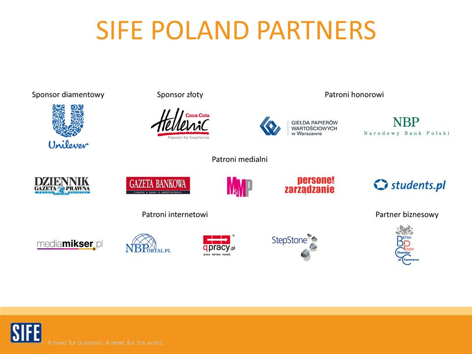 SIFE POLAND PARTNERS