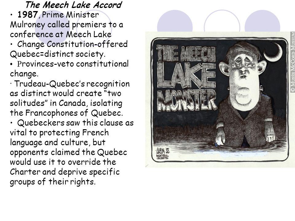 canadas meech lake accord essay
