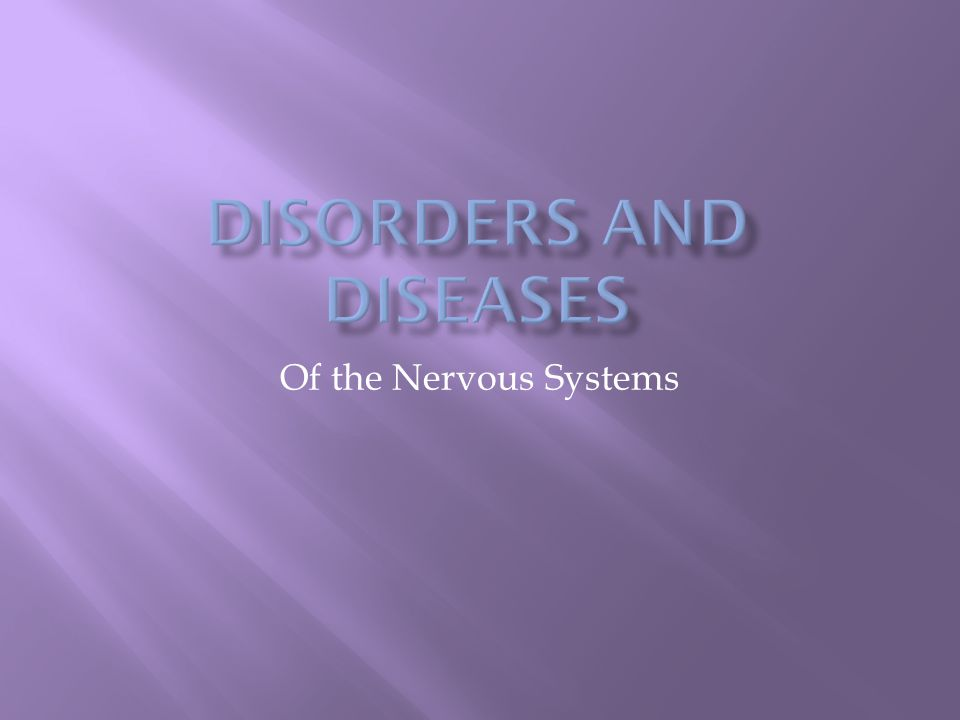 Of the Nervous Systems