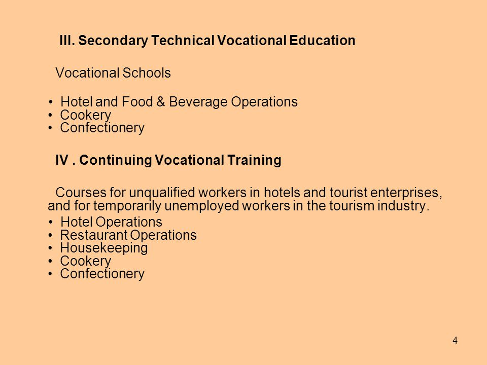 vocational education 3 essay These degree-transfer programs allow students to leverage a vocational education as useful stepping-stone to a baccalaureate degree how to choose a vocational trade.