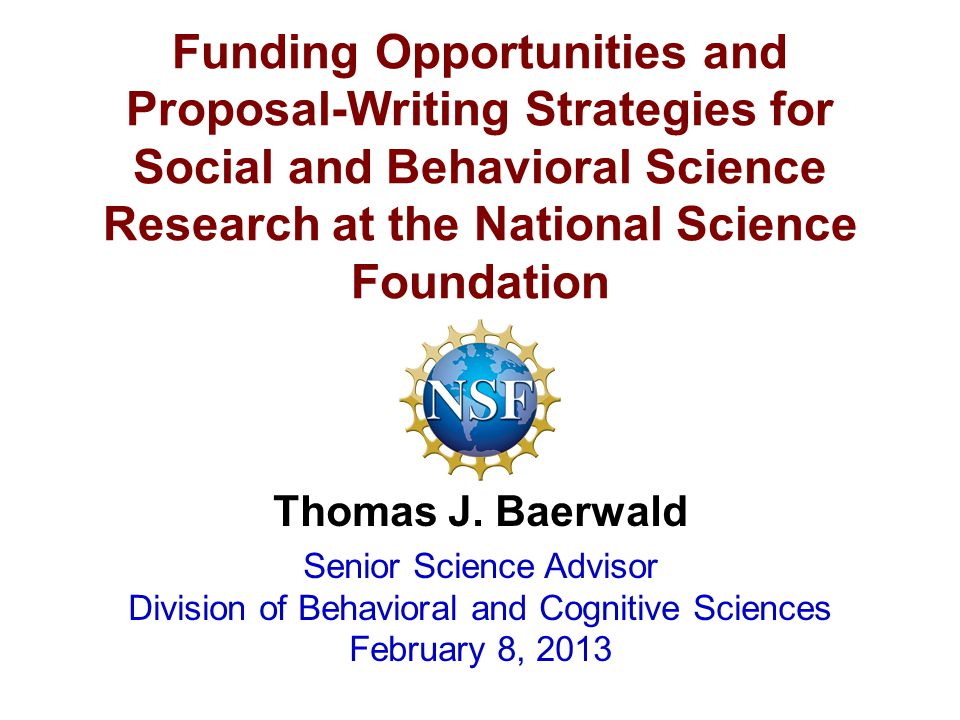 Dissertation Grants Social Science