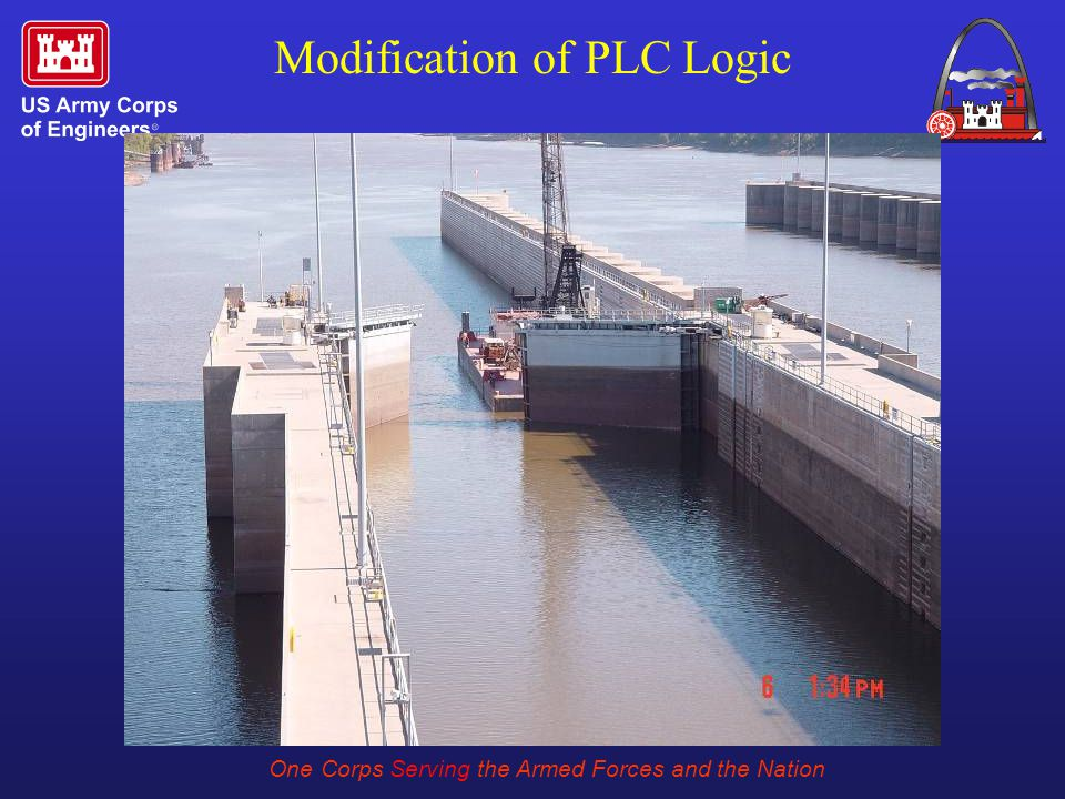 One Corps Serving the Armed Forces and the Nation Modification of PLC Logic