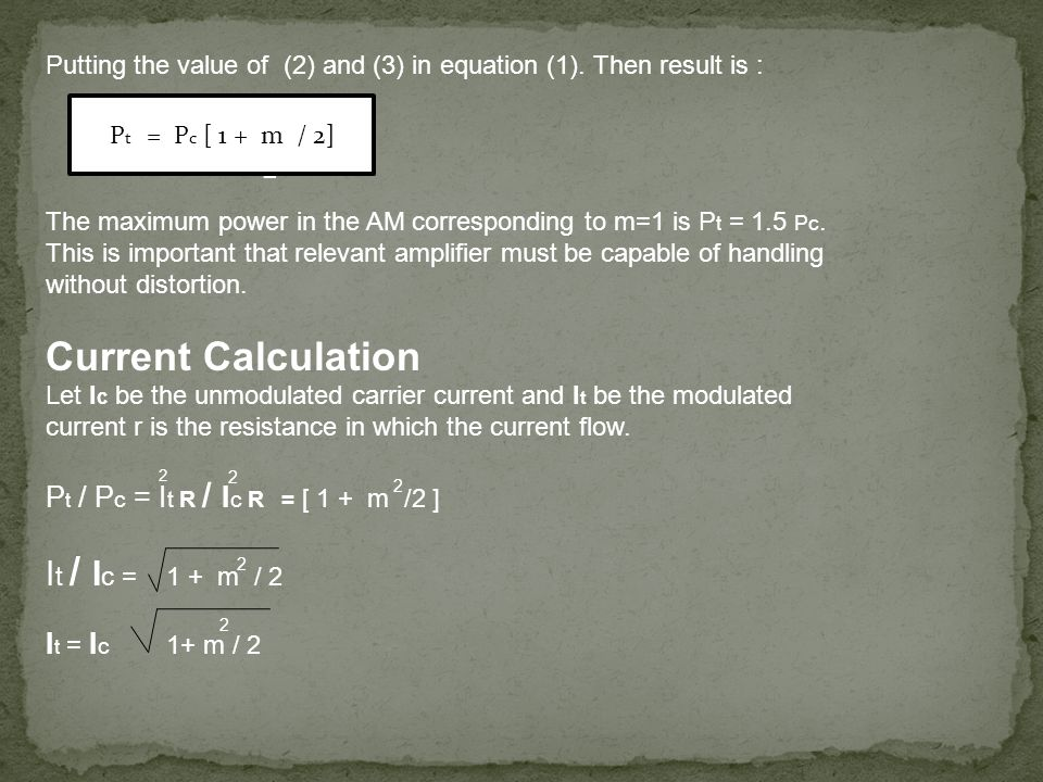 Putting the value of (2) and (3) in equation (1).