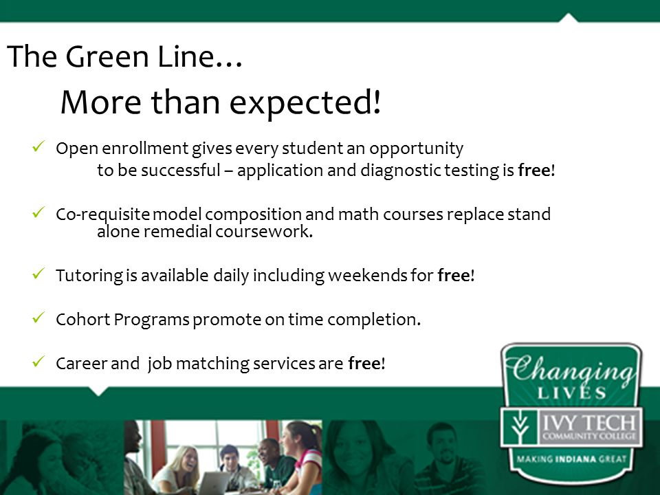 The Green Line… More than expected.