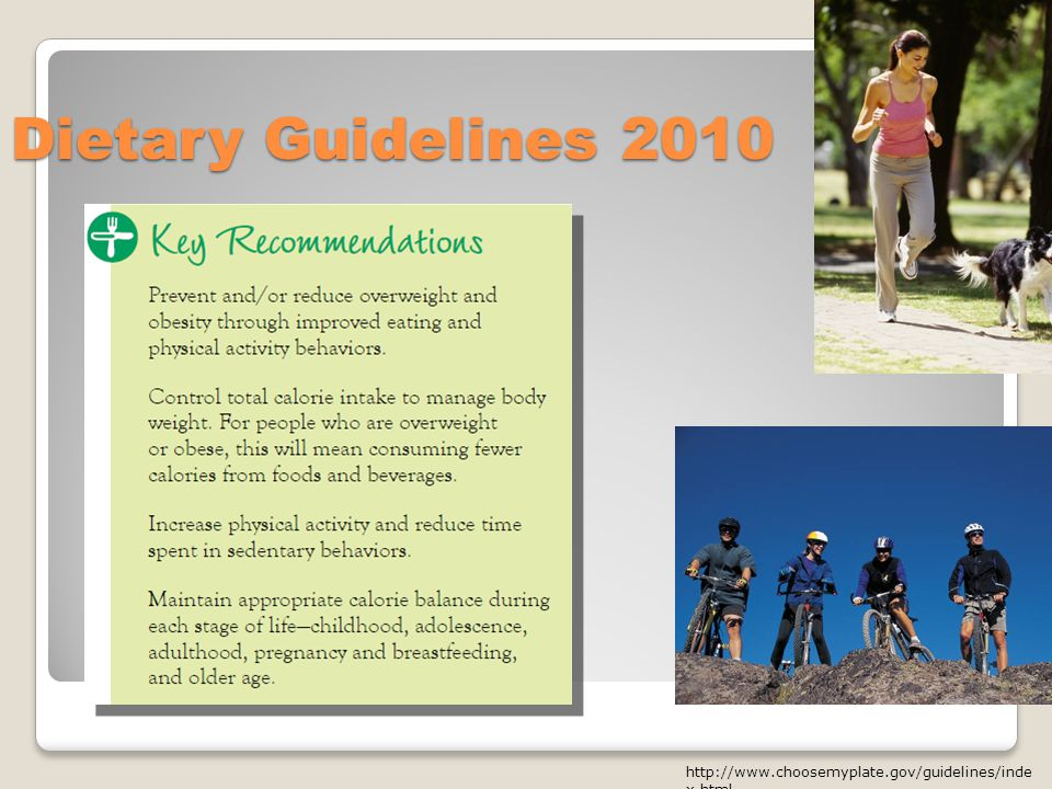 Dietary Guidelines x.html