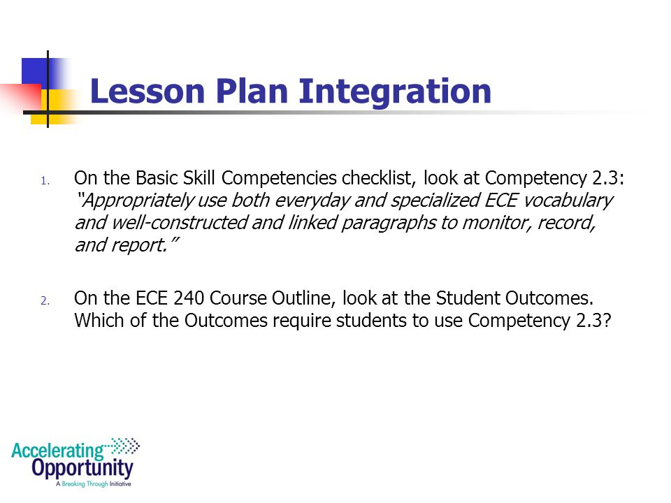 Lesson Plan Integration 1.