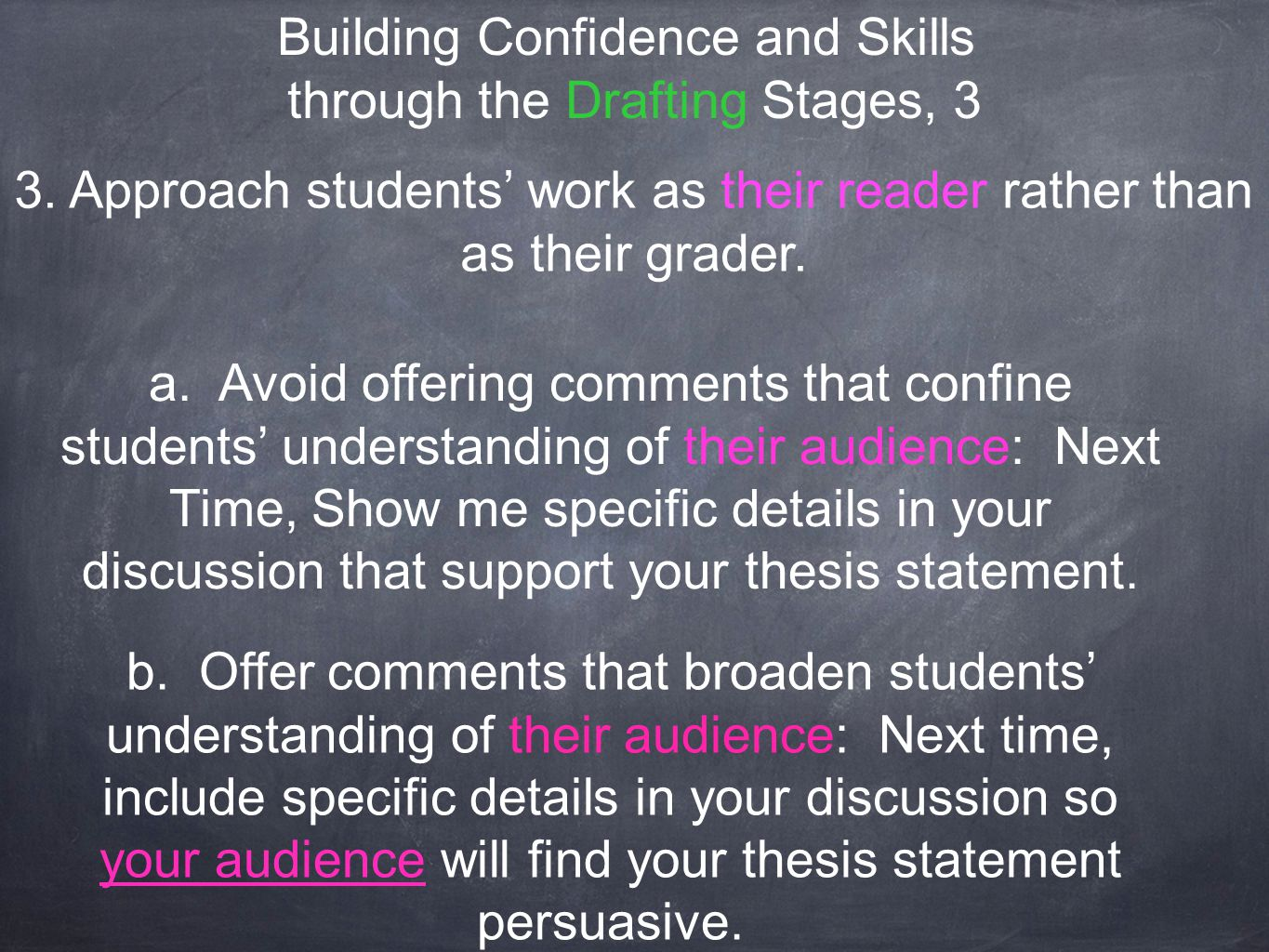 thesis statement about confidence Learning how to write a thesis statement can give students confidence in writing.