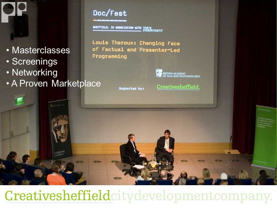 Masterclasses Screenings Networking A Proven Marketplace