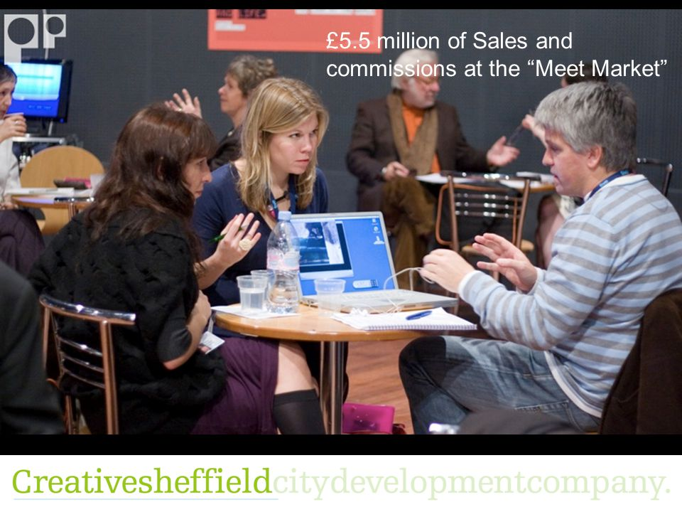 £5.5 million of Sales and commissions at the Meet Market
