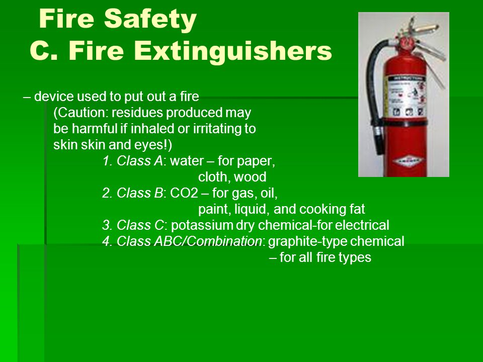 Fire Safety C.