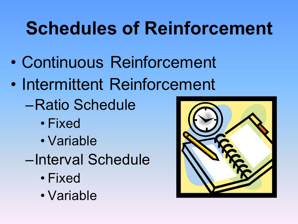 Some Reinforcement Procedures: Extinction In operant conditioning, the loss of a conditioned behavior when consequences no longer follow it.
