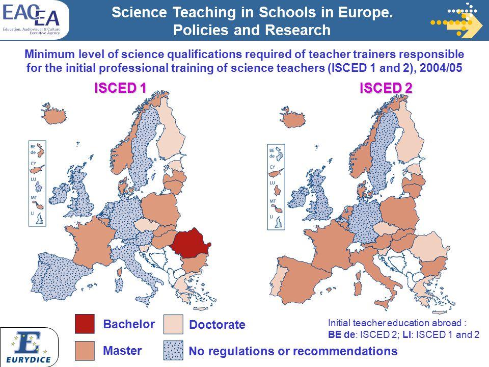 Science teaching in schools in europe policies and research science teaching in schools in europe sciox Gallery