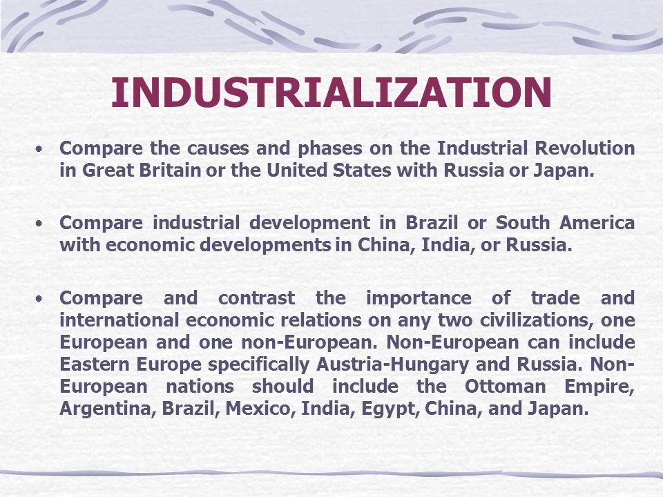essay on industrialization revolution