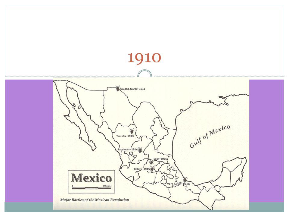 MEXICAN REVOLUTION 1910