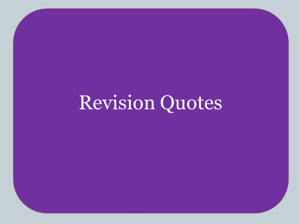 CHRISTIANITY Revision Quotes