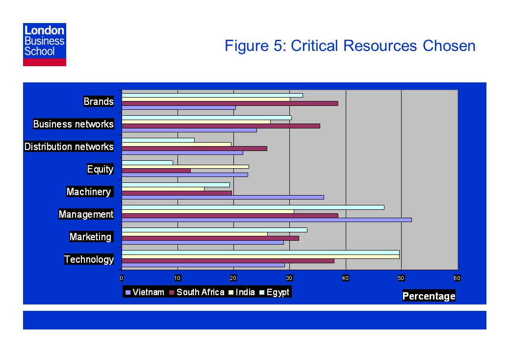 Page 22 Figure 5: Critical Resources Chosen