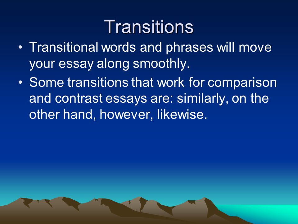 a smoother transition for transexuals essay